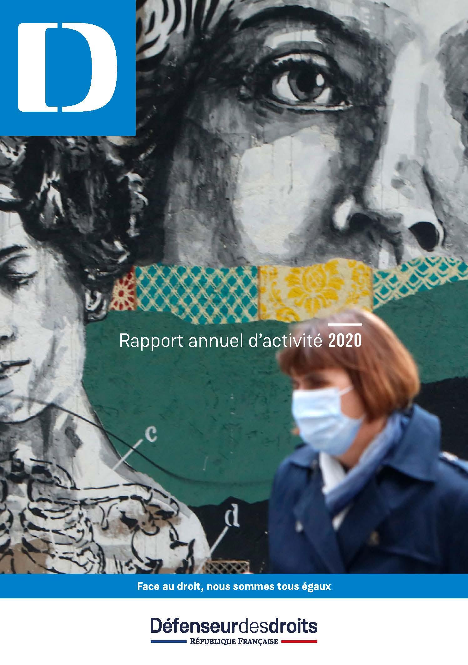 Rapport annuel d'activité 2020 du Défenseur des droits