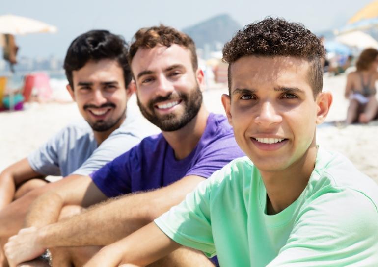 Bastien, Maxence et Ilias
