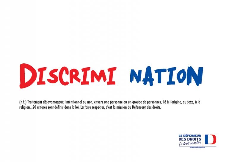 Semaine contre le racisme - Discrimination