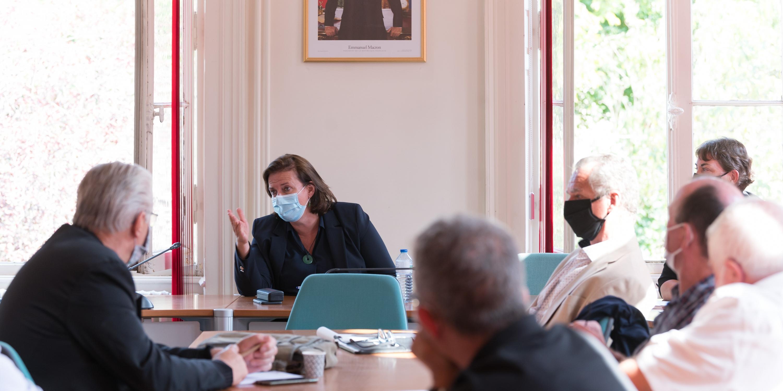 Claire Hédon, Défenseure des droits à Rennes -  © Jacques Witt