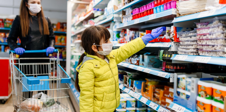 Covid-19 - Supermarché