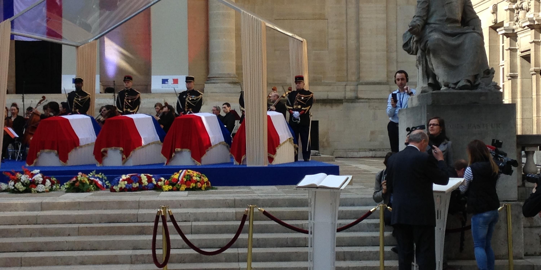 Le Défenseur des droits a rendu hommage, mercredi 27 mai, à quatre grandes figures de la Résistance.